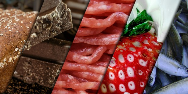 Images of various types of food.